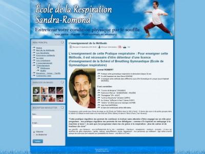 Ecole de la Respiration Sandra-Romond