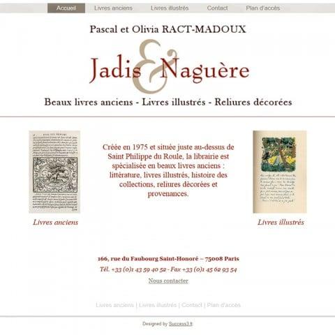 Jadis et Naguère