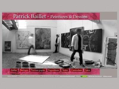 Patrick Baillet - Artiste peintre - Plasticien