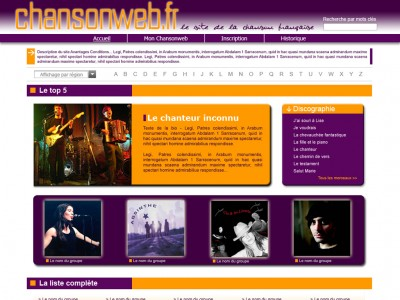 chansonweb