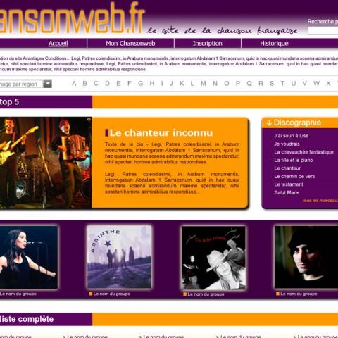Chanson web