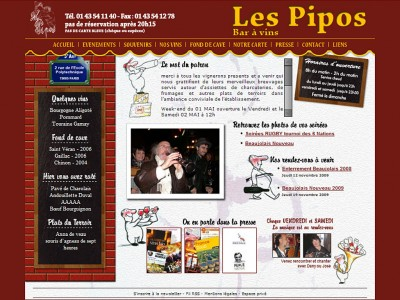 Les Pipos - Bar à vins