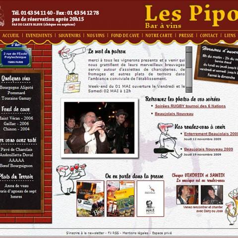 Les Pipos – Bar à vin
