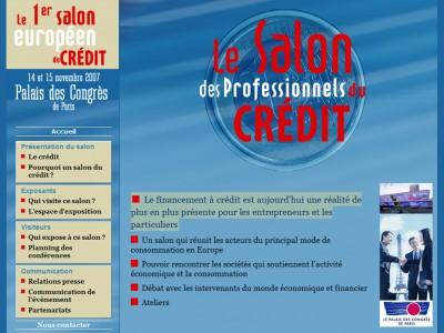 Le salon des professionnels du credit