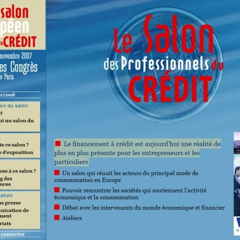 Le salon des professionnels du crédit