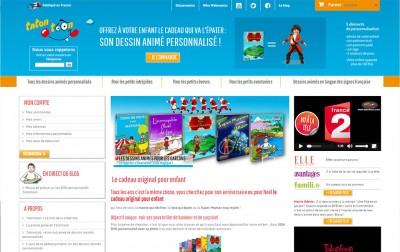 Création d'une boutique en ligne : Tatontoon
