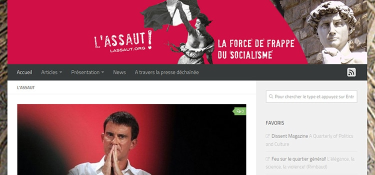 Refonte site internet : L'assaut