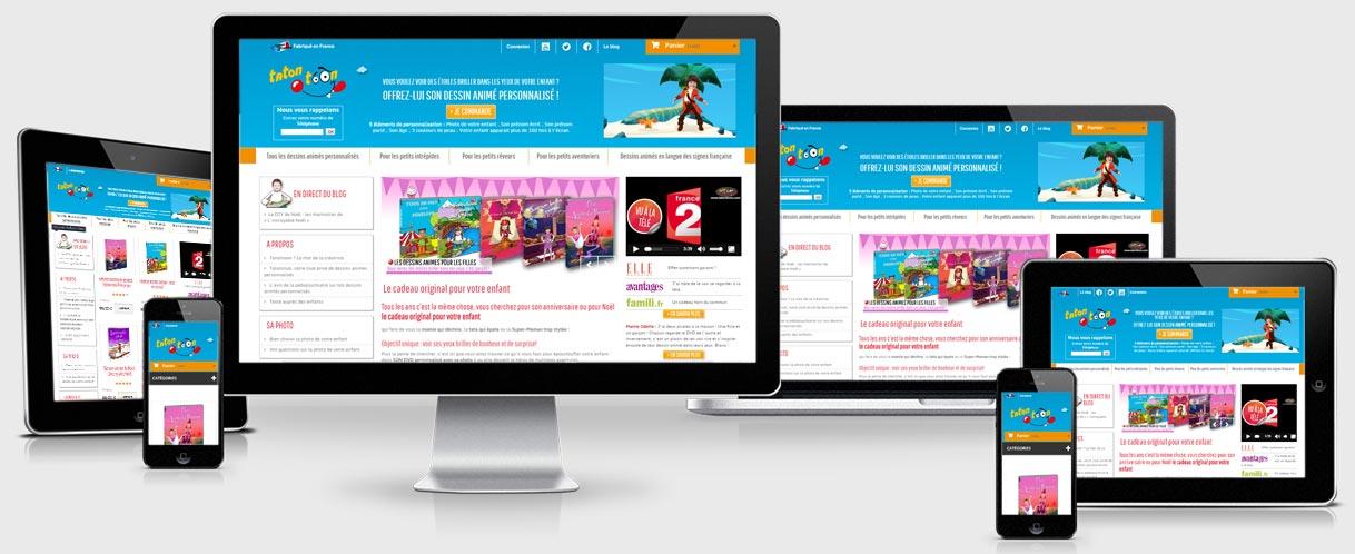 Création boutique en ligne personnalisée - Success3.fr