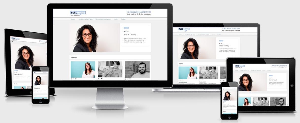 Site web WordPress responsive design - Success3.fr